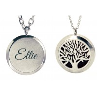 Personalised Aromatherapy Essential Oil Diffuser Necklace
