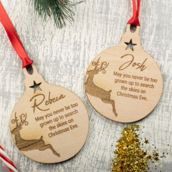Name & Message Baubles