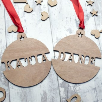 Name Tree Baubles