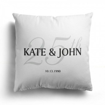 Personalised His and Hers Cushions