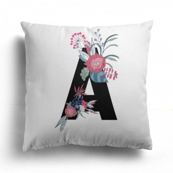 Initialled Cushion Cover
