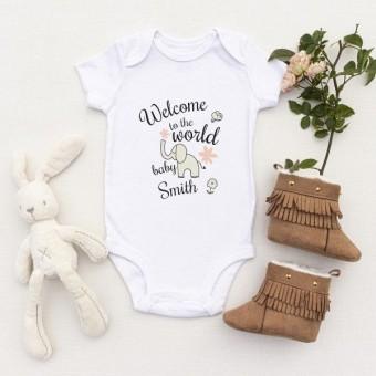 Personalised Baby Vest