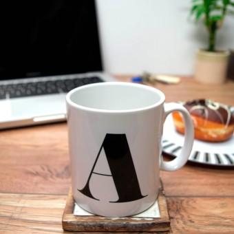 Initial Mug
