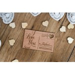 Personalised Wooden Postcard