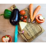 Personalised Acacia Serving Chopping Board with Handle
