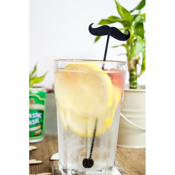 Moustache Drink Stirrers