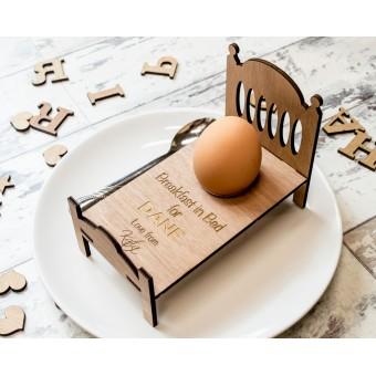 Personalised Breakfast in Bed Egg Cup