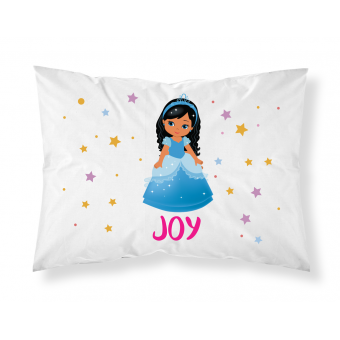Personalised Children Princess Pillowcase