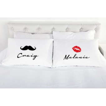 His & Hers Pillowcase
