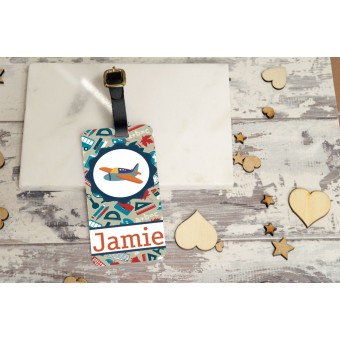 Personalised Kids Bag Tag - Boys