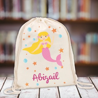 Personalised Kids Gym Bag