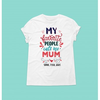 Personalised Adult T-Shirt