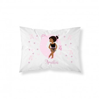 Personalised Ballerina Pillowcase