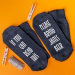 Personalised Socks Bring Beer