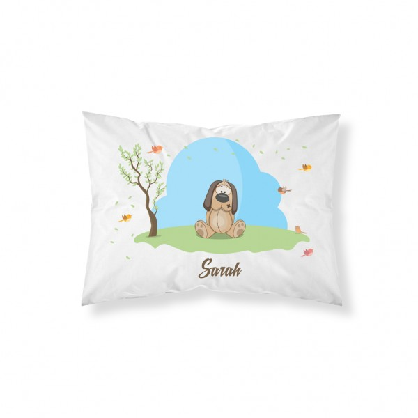 Personalised Cute Animals Pillowcase