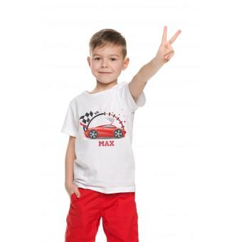 Personalised Racing Car T-Shirt