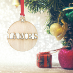 Personalised Christmas Ornaments - Pack of Two