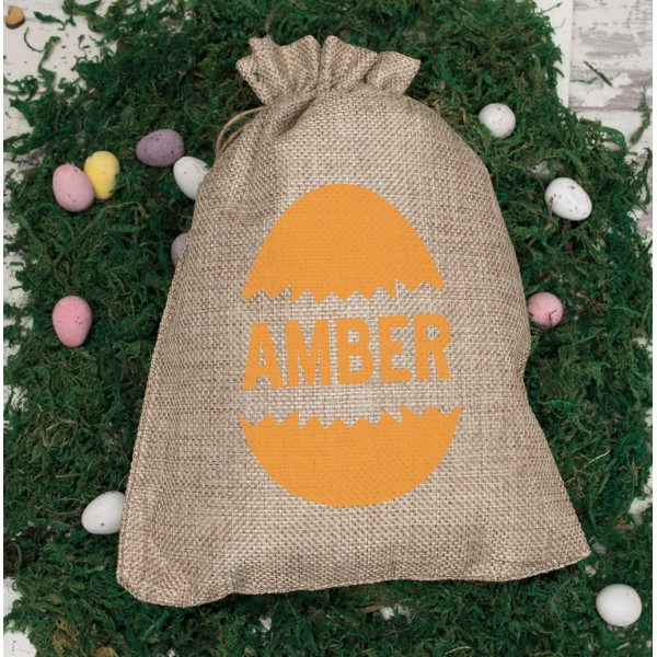 Mini Personalised Easter Sack