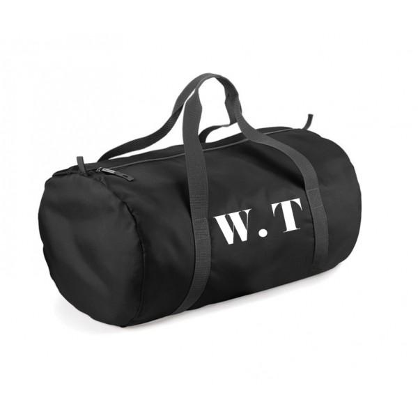Personalised Gym Barrel Bag