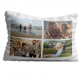 Personalised Photo Collage Pillowcase Up to 4 Photos