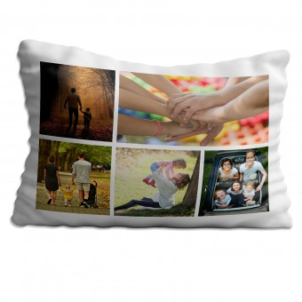 Personalised Photo Collage Pillowcase Up to 5 Photos