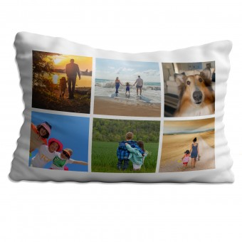 Personalised Photo Collage Pillowcase Up to 6 Photos