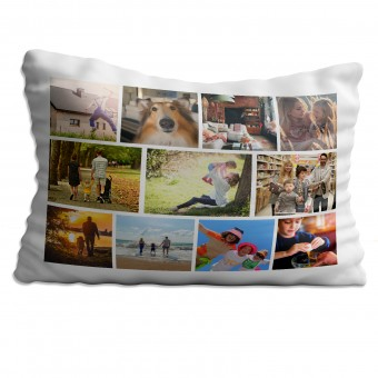 Personalised Photo Collage Pillowcase Up to 11 Photos