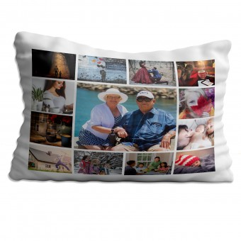 Personalised Photo Collage Pillowcase Up to 13 Photos