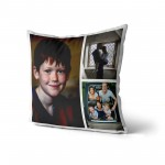Personalised Photo Cushion Cover with Up to 3 Photos