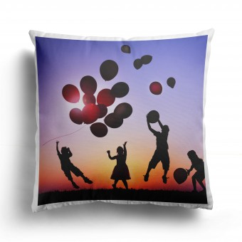 Personalised Photo Cushion Cover with 1 Photo