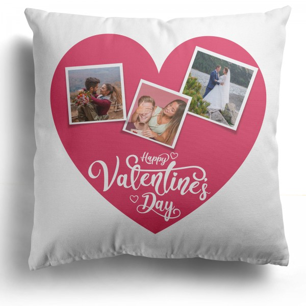 Personalised Photo Cushion Valentines Day PIPV-104