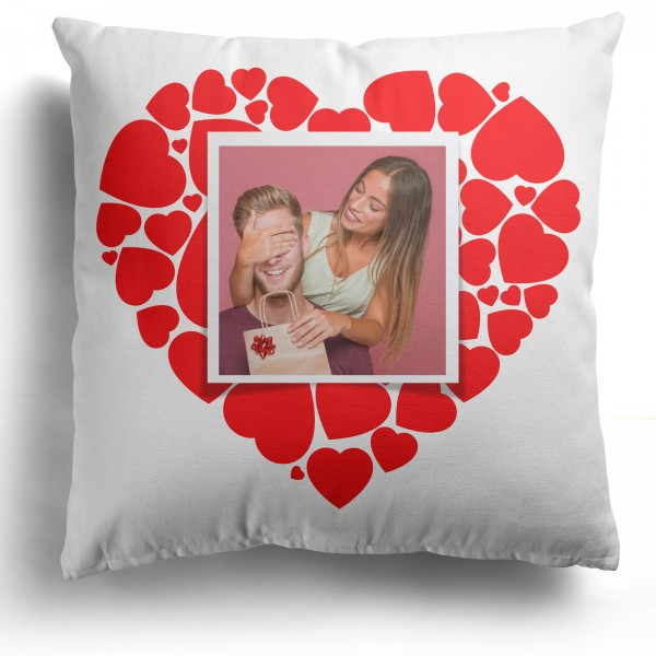 Personalised Photo Cushion with 1 Photo PIPV-103