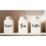 Personalised Kitchen Storage Label Set of 10