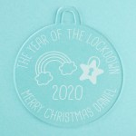 Personalised Acrylic Ornaments - Pack of Two #114