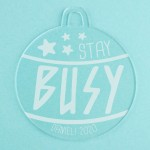 Personalised Acrylic Ornaments - Pack of Two #116