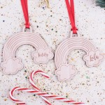 Personalised Christmas Lockdown Ornaments - Pack of Two #113