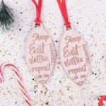 Personalised Christmas Lockdown Ornaments - Pack of Two #109