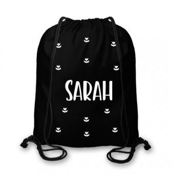 Personalised Name Kids Gym Bag