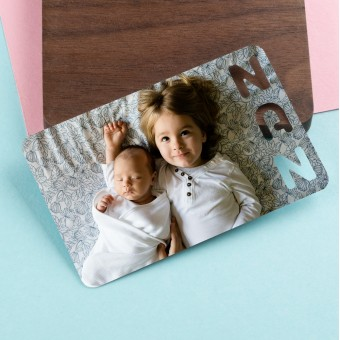 Personalised Photo Wallet Insert NAN