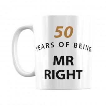 Personalised Anniversary Mug