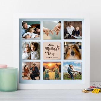 Personalised Photo Frame with 8 photos