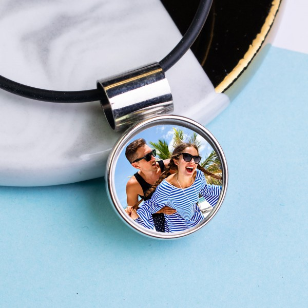 Personalised Photo Necklace PPN-101
