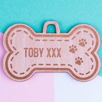 Personalised Christmas Pet Ornaments - Pack of Two #102