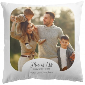 Personalised Photo Cushion Cover