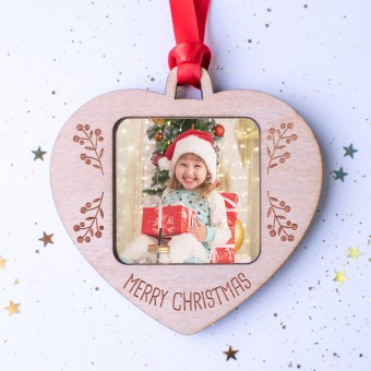 Photo Christmas Ornament #104