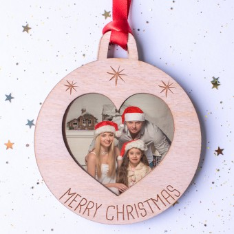Photo Christmas Ornament #101