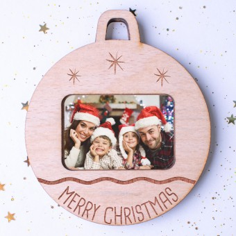 Photo Christmas Ornament #102