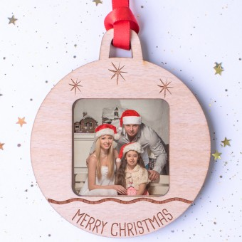 Photo Christmas Ornament #103