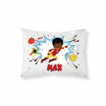 Personalised Superhero Pillowcase