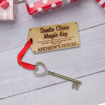 Personalised Key for Santa